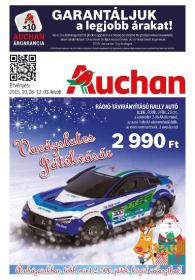 Auchan akciós újság, online játék katalógus