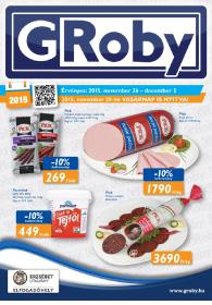 G'Roby akciós újság, online katalógus