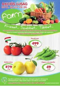 Farm boltok akciós újság, online katalógus