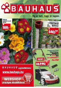 Bauhaus akciós újság, online katalógus
