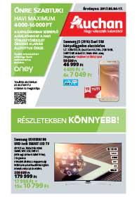 Auchan akciós újság, online katalógus