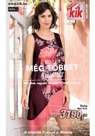 KIK Textilien akciós újság, online katalógus