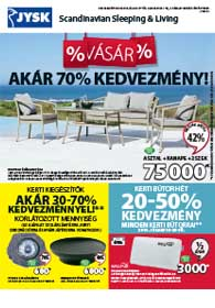 Jysk akciós újság, online katalógus