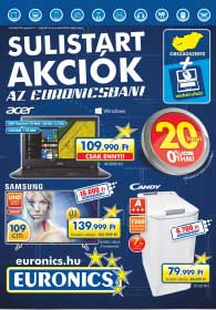 Euronics akciós újság, online katalógus