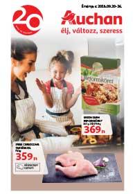Auchan Szupermarket akciós újság 2018. 09.20-09.26