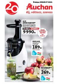 Auchan Szupermarket akciós újság 2018. 09.27-10.03