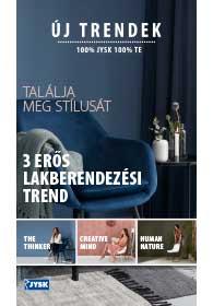 JYSK Új trendek akciós újság 2018. 09.27-10.10