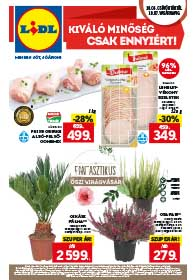 Lidl akciós újság 2018. 10.04-10.10