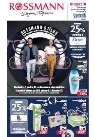 Rossmann akciós újság 2018. 10.01-10.07/27