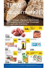 Tesco szupermarket akciós újság 2018. 09.27-10.03