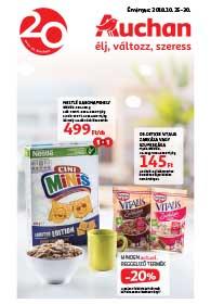 Auchan akciós újság 2018. 10.25-10.30