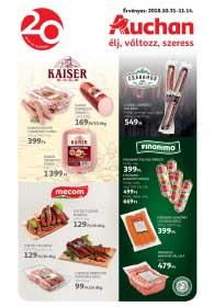 Auchan akciós újság 2018. 10.31-11.14