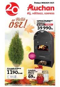 Auchan Őszi katalógus 2018. 10.04-10.17