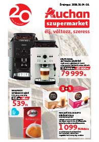 Auchan Szupermarket akciós újság 2018. 10.04-10.10