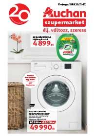 Auchan Szupermarket akciós újság 2018. 10.11-10.17