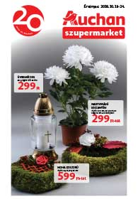 Auchan Szupermarket akciós újság 2018. 10.18-10.24