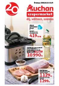 Auchan Szupermarket akciós újság 2018. 10.31-11.07