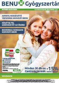 BENU akciós újság 2018. 10.01-10.31