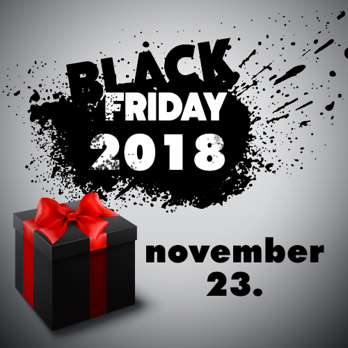 Black Friday 2018 Magyarország - Fekete Péntek 2018