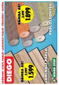 Diego akciós újság 2018. 10.01-10.31