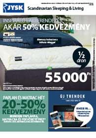 JYSK akciós újság 2018. 10.04-10.17