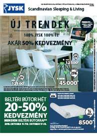JYSK akciós újság 2018. 10.11-10.24