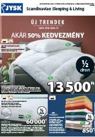 JYSK akciós újság 2018. 10.18-10.30