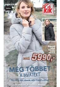 Kik textil akciós újság 2018. 10.03-tól