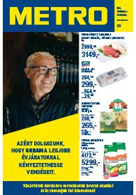 Metro Élelmiszer katalógus 2018. 10.24-11.06