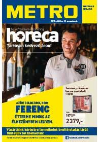 Metro HORECA katalógus 2018. 10.10-11.06