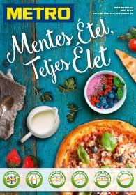 Metro Mentes Étel katalógus 2018. 10.24-11.20