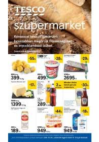 Tesco szupermarket akciós újság 2018. 10.04-10.10