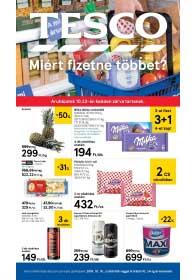 Tesco szupermarket akciós újság 2018. 10.18-10.24