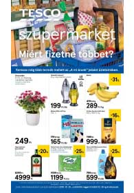 Tesco szupermarket akciós újság 2018. 10.25-10.30