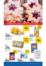 Tesco szupermarket akciós újság 2018. 10.31-11.07