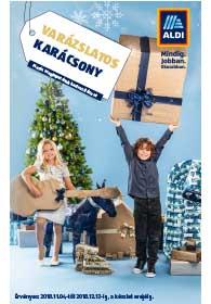 Aldi karácsonyi katalógus 2018. 11.04-12.13