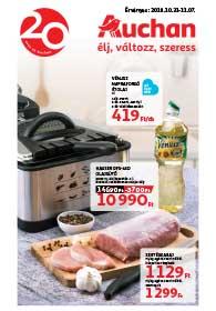 Auchan akciós újság 2018. 10.31-11.07