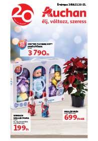 Auchan akciós újság 2018. 11.15-11.21
