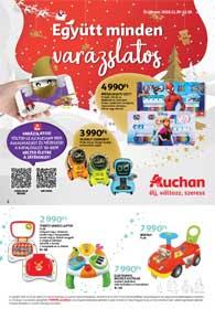 Auchan Játékkatalógus 2018. 11.29-12.29