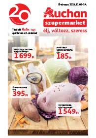 Auchan Szupermarket akciós újság 2018. 11.08-11.14