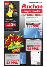 Auchan Szupermarket akciós újság 2018. 11.22-11.28