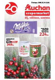 Auchan Szupermarket akciós újság 2018. 11.29-12.05