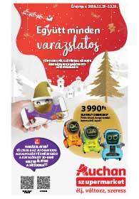Auchan Szupermarket Játékkatalógus 2018. 11.29-12.29