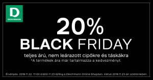 Black Friday 2018 Deichmann