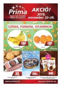 CBA Príma akciós újság 2018. 11.22-11.28