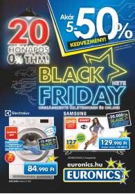 Euronics BLACK FRIDAY akciós újság 2018. 11.13-11.19