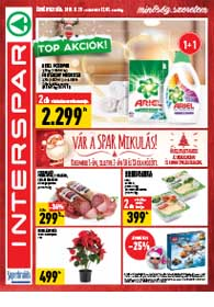 Interspar akciós újság 2018. 11.29-12.05