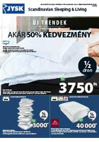 JYSK akciós újság 2018. 10.31-11.14