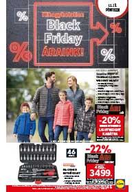 Lidl BLACK FRIDAY akciós újság 2018. 11.23.