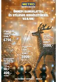 Metro Dekor katalógus 2018. 11.07-12.04